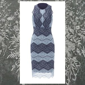 Erin Fetherston Blue Lace Meredith Dress